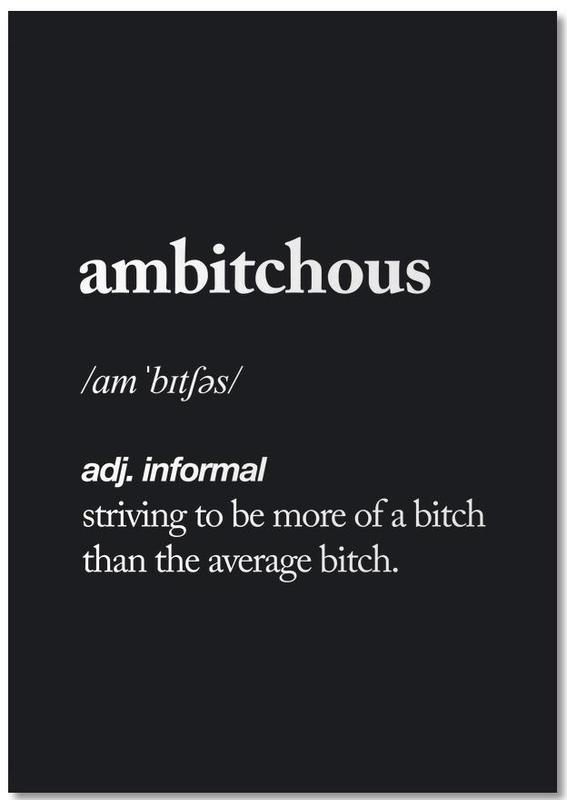 Ambitchous Notebook