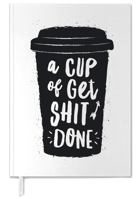 A Cup of Get Shit Done Personal Planner