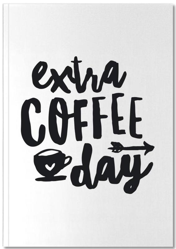 Extra Coffee Day Notebook
