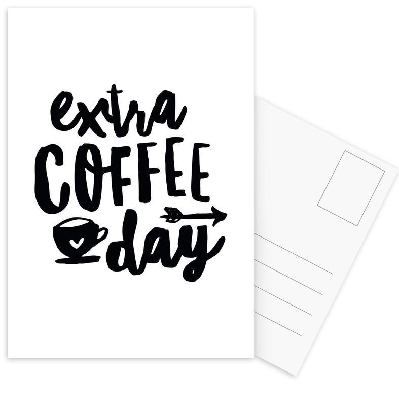 Extra Coffee Day -Postkartenset