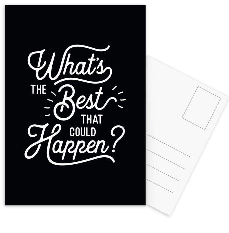 What's the Best that Could Happen Postcard Set