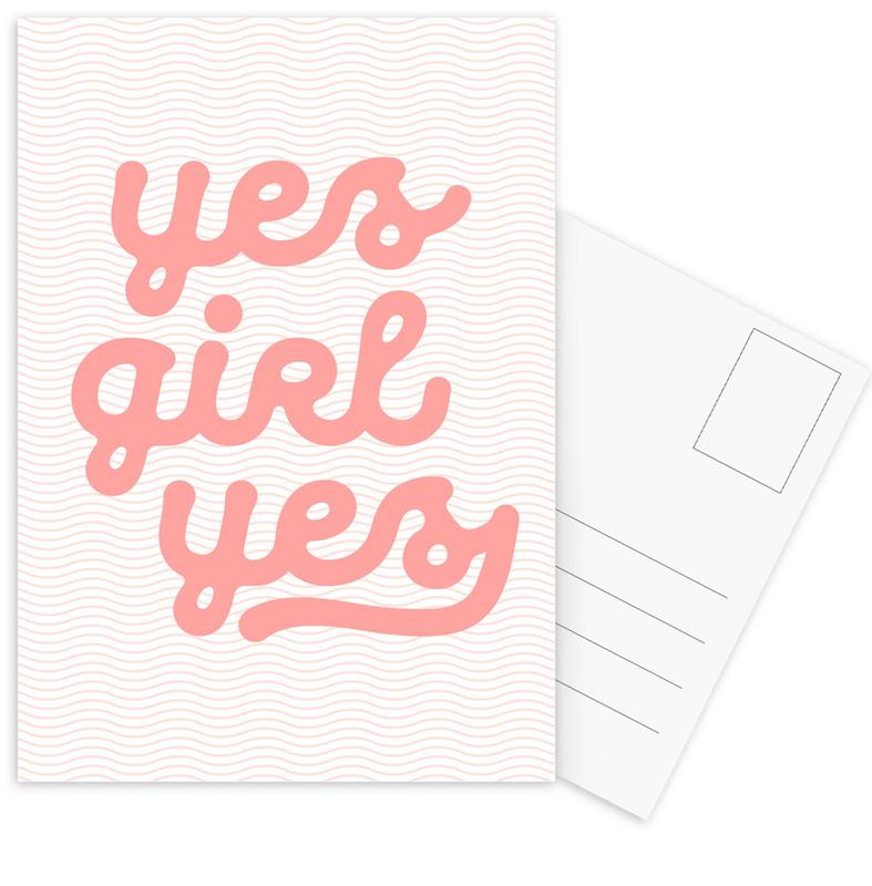 Yes Girl Yes cartes postales