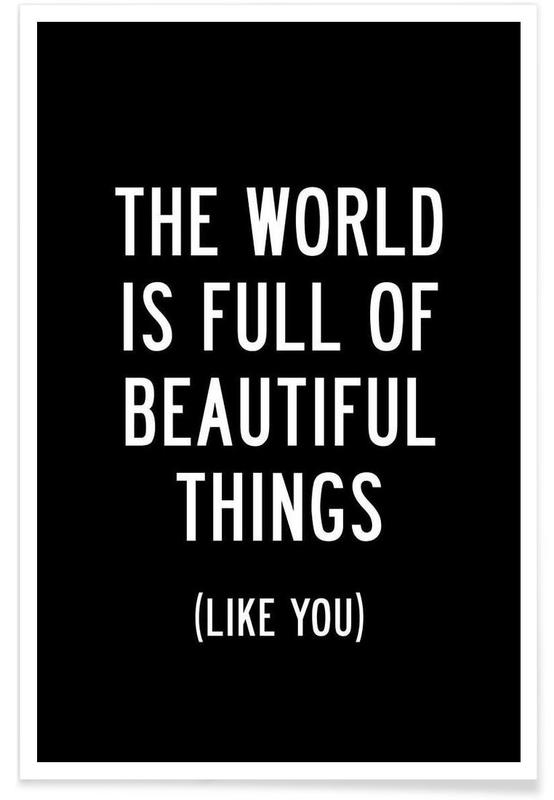 The World is Full of Beautiful Things Poster