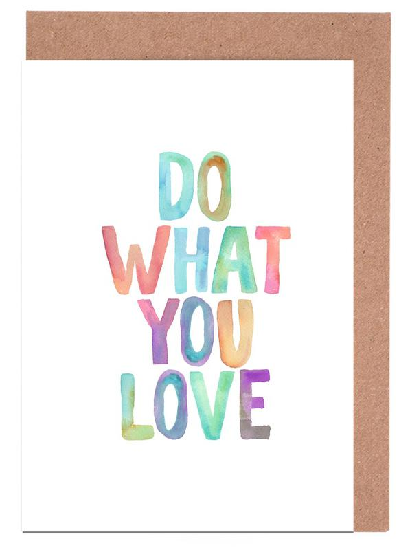 Do What You Love Greeting Card Set