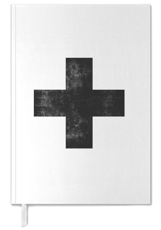 Swiss Cross White -Terminplaner
