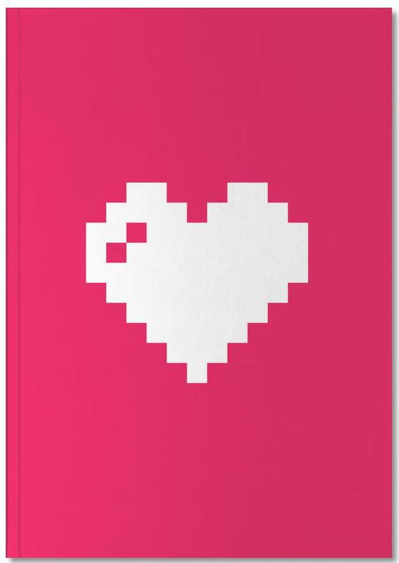 Digi Heart Notebook