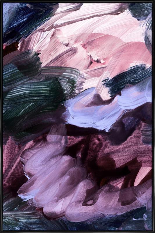 Abstract Painting VII -Bild mit Kunststoffrahmen