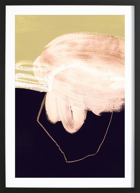 Untitled 160318 -Bild mit Holzrahmen