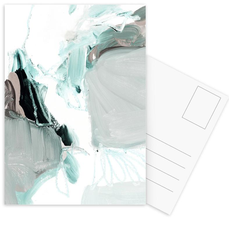 Abstract Painting XX Postcard Set