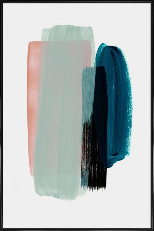 Minimalism 12 -Bild mit Kunststoffrahmen