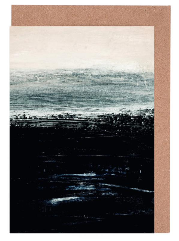 Minimalist Landscape 3 Greeting Card Set