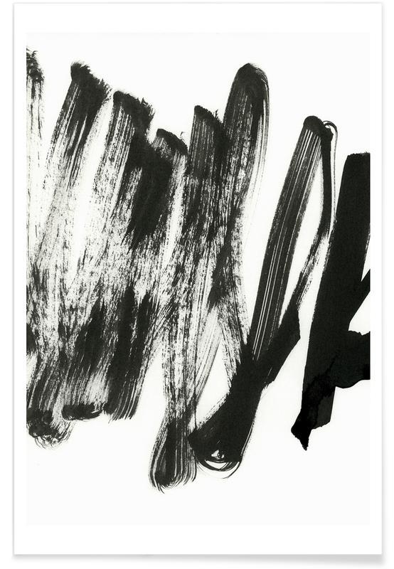 Black On White -Poster
