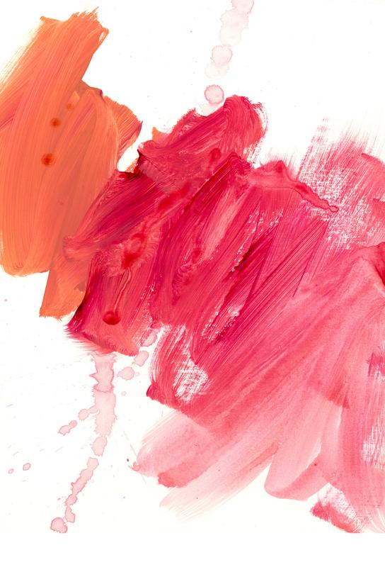 Brush Strokes Acrylic Print