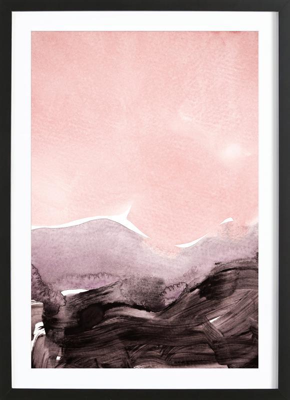 Blush & Mauve Framed Print