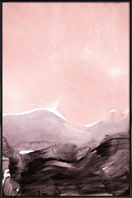 Blush & Mauve Framed Poster
