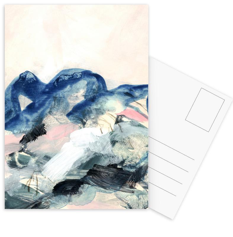 Abstract Painting II Postcard Set