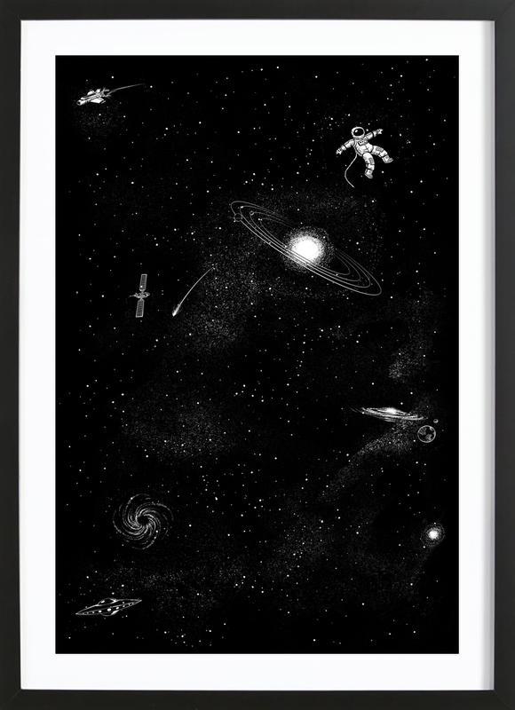 Gravity 3.0 Framed Print