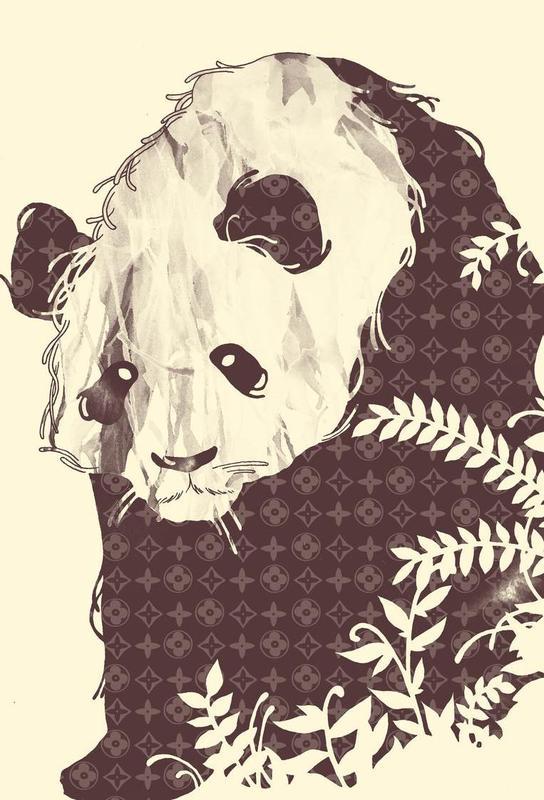 New Brand Panda Acrylic Print