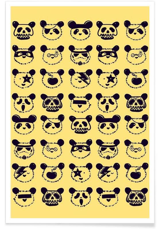 Pop Panda Poster
