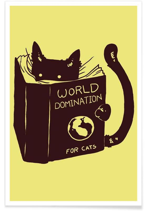 World Domination for Cats Poster