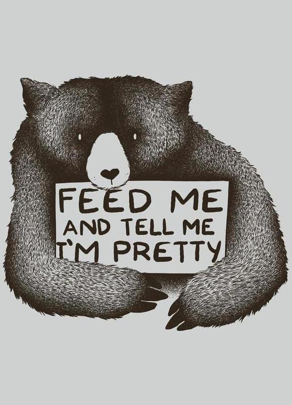 Feed Me Leinwandbild
