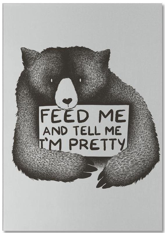 Feed Me -Notizblock