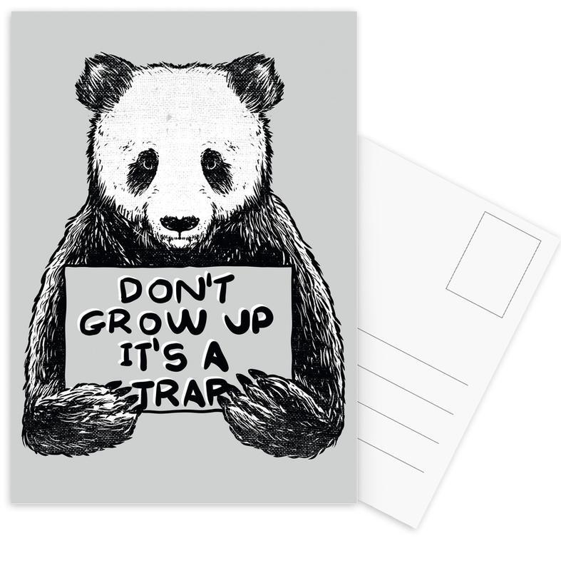 Don't Grow up Postcard Set