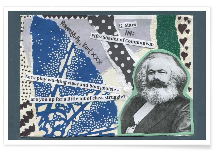 Karl Marx poster