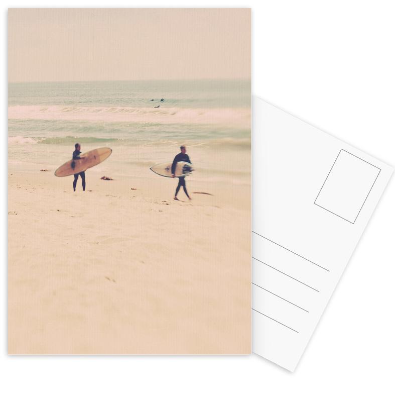 Two Surfers -Postkartenset