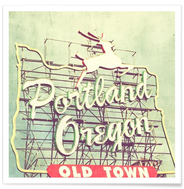Portland Dear Poster