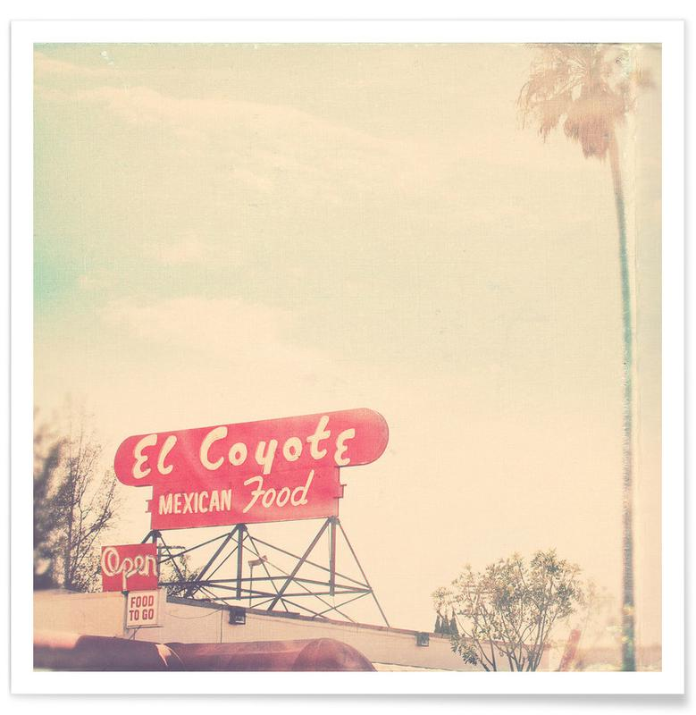 el coyote -Poster