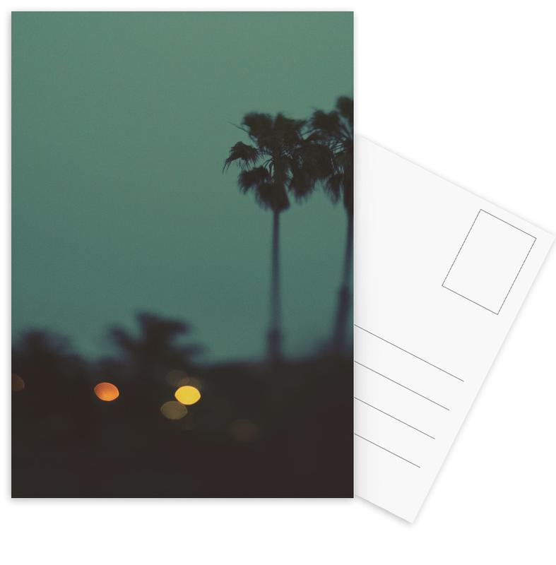 California Nights Postcard Set