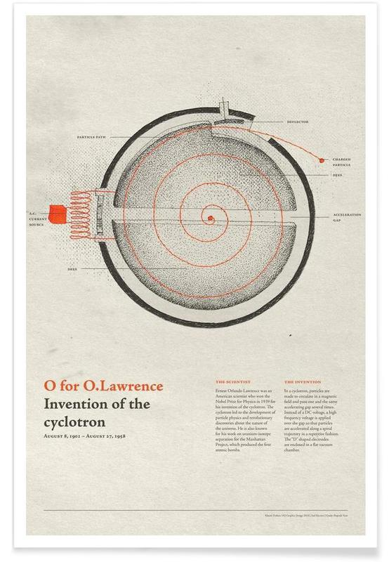 O for O.Lawrence -Poster