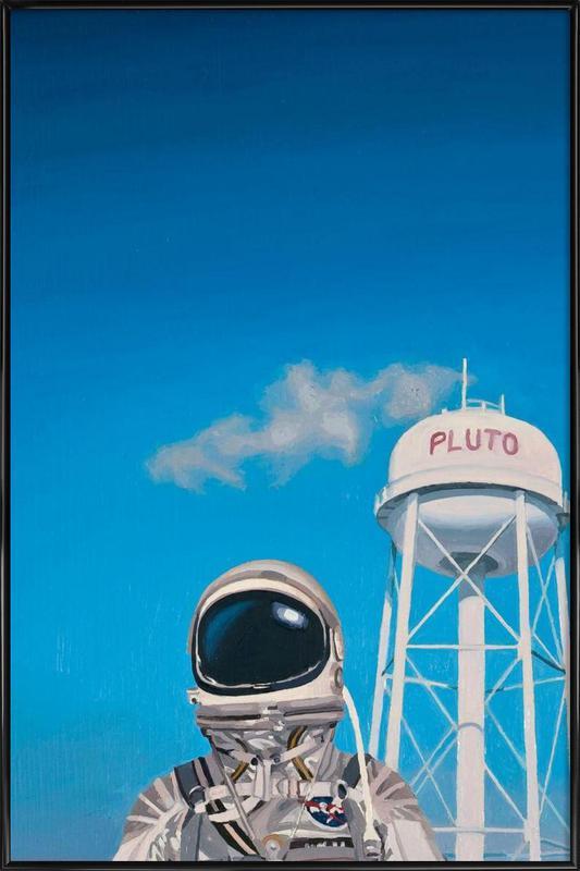 Pluto Framed Poster