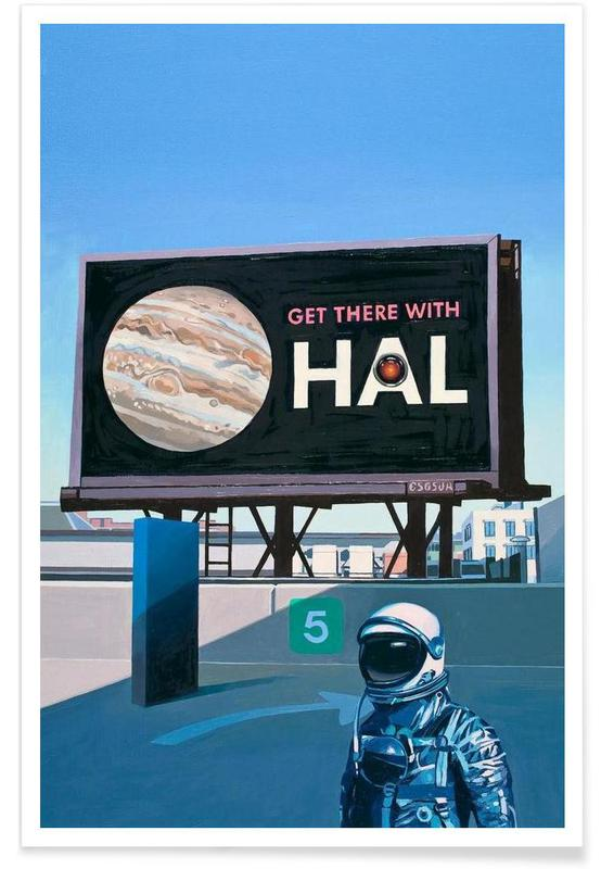 Get There With HAL Poster