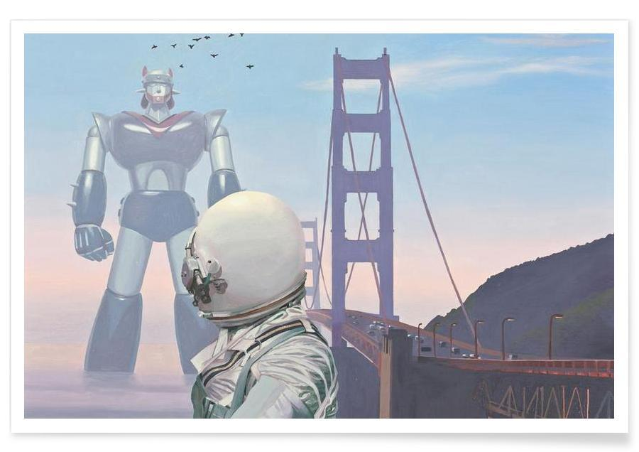 A Very Large Robot Poster