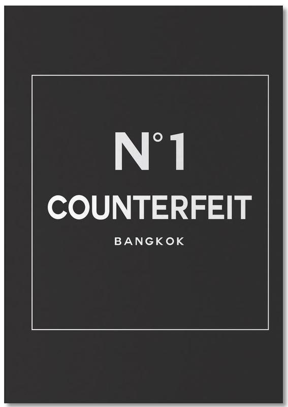 Counterfeit bloc-notes