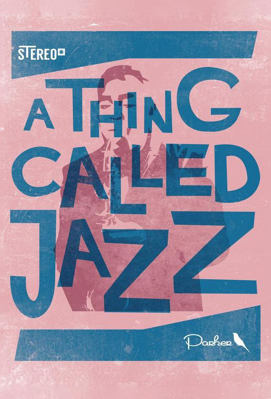 Thing called jazz Charlie Parker Aluminium Print