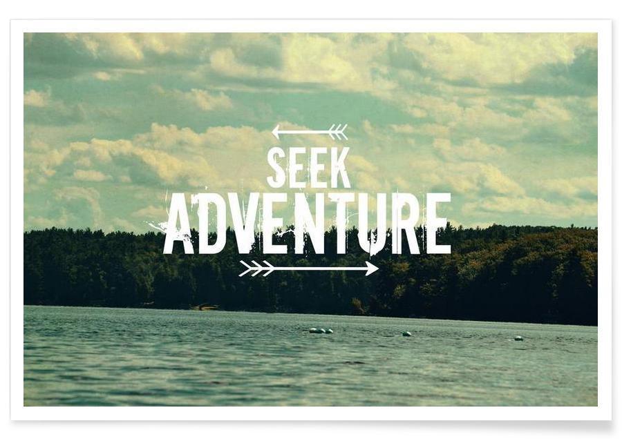 Seek Adventure Poster