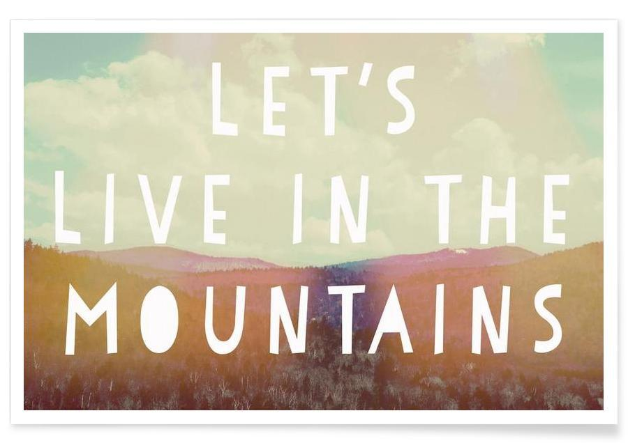 Live in The Mountains poster