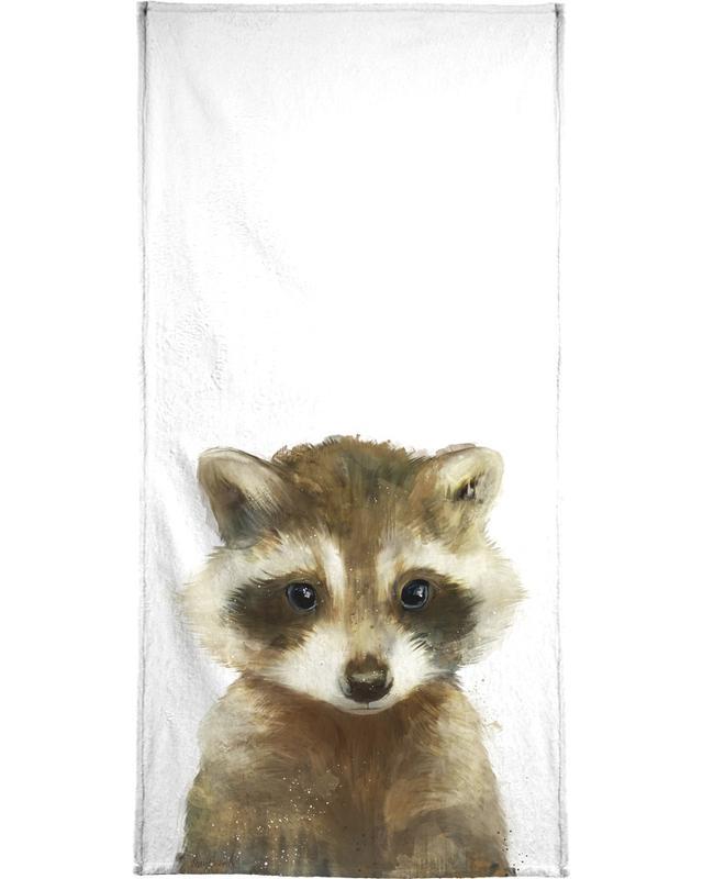 Little Raccoon Bath Towel