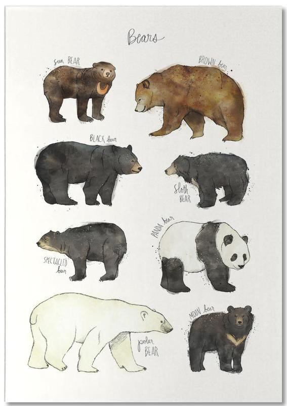 Bears -Notizblock