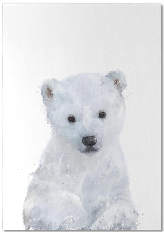 Little Polar Bear -Notizblock