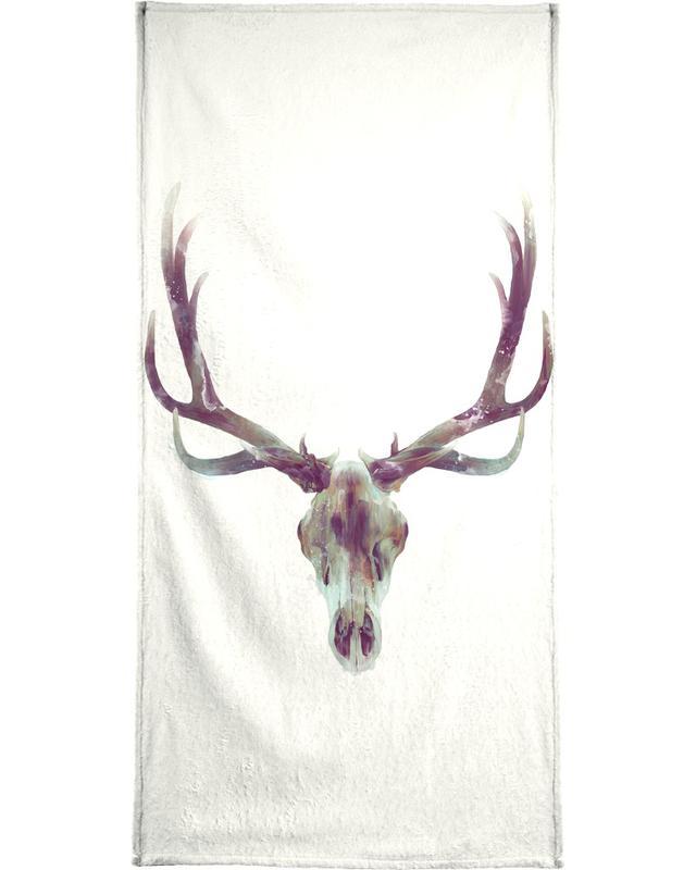 Elk Skull -Handtuch