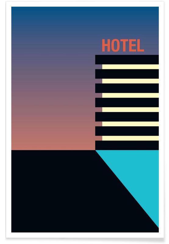 Hotel Nightfall Poster