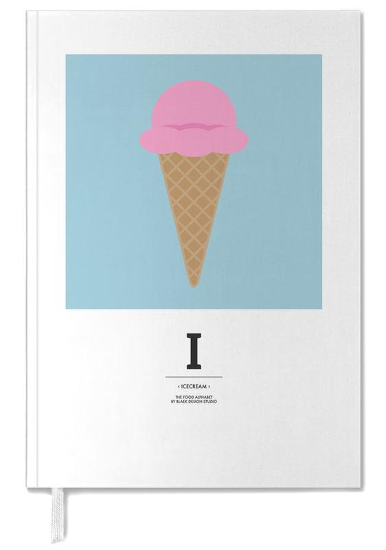 """The Food Alphabet"" - I like Ice Cream Personal Planner"