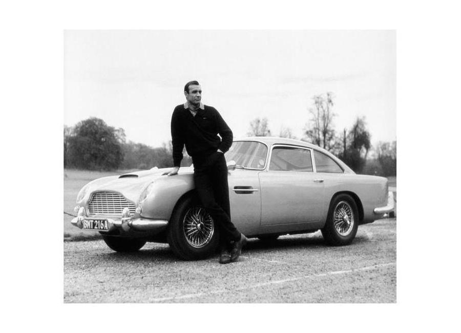 Sean Connery in Goldfinger, 1964 Leinwandbild | Dekoration > Bilder und Rahmen > Bilder