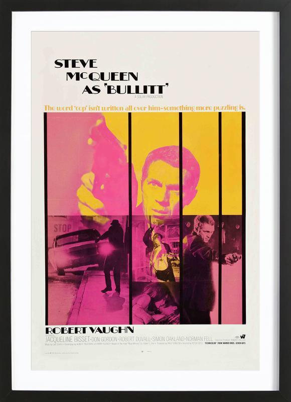 Bullitt, 1968 Movie Poster Framed Print