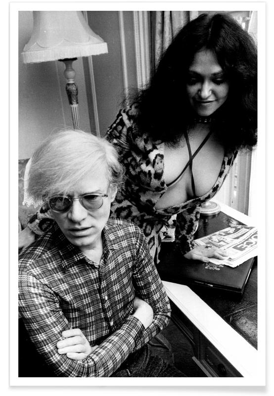 Andy Warhol Vintage Photograph Poster