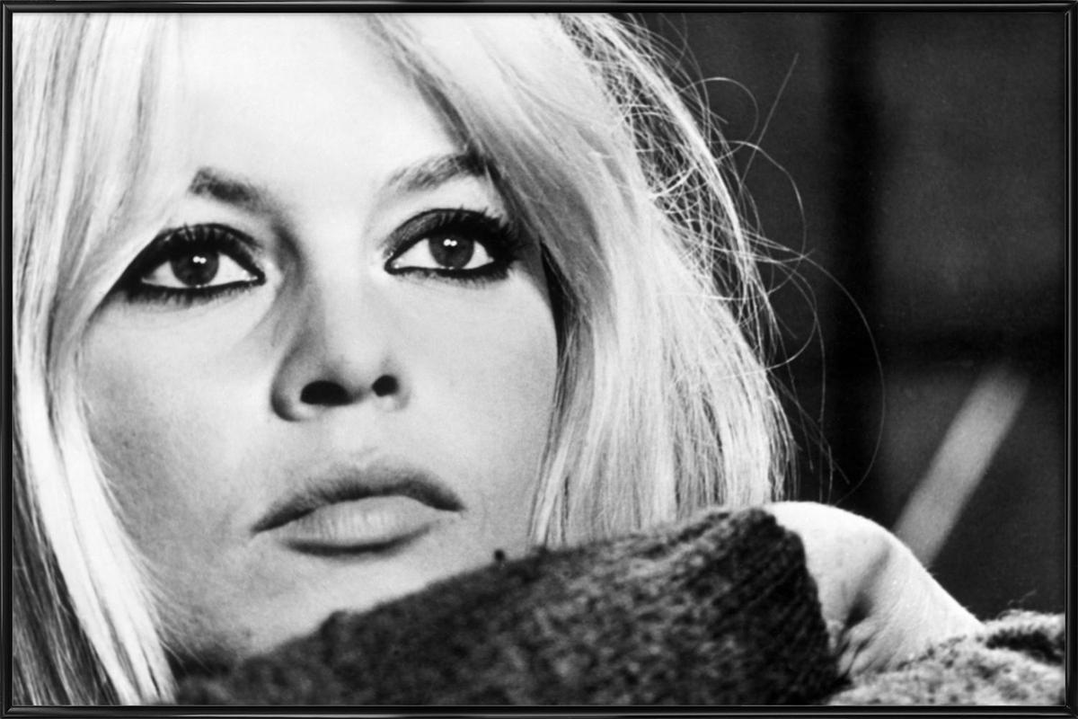 Brigitte Bardot 4 ingelijste poster